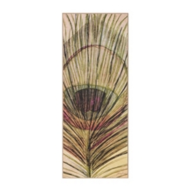 Peacock Feather II Wall Plaque