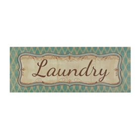 Green & Yellow Laundry Wall Plaque