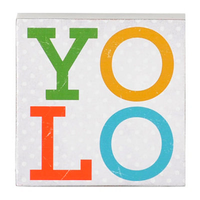 YOLO Word Block