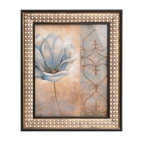 Fleur Bleue II Framed Art Print