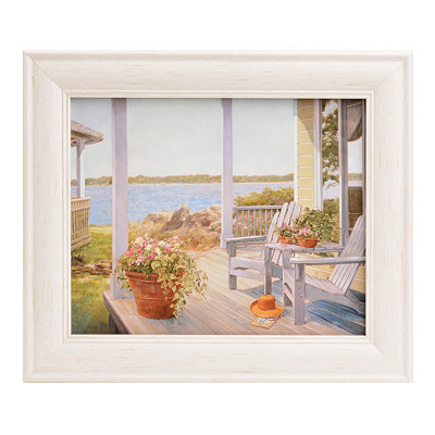 Shades of Summer II Framed Art Print