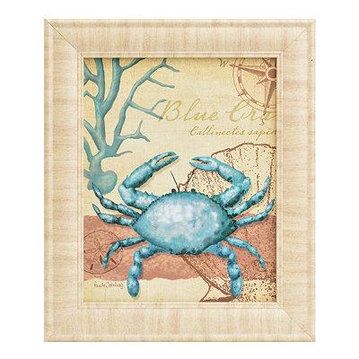 Turquoise Ocean Life I Framed Art Print