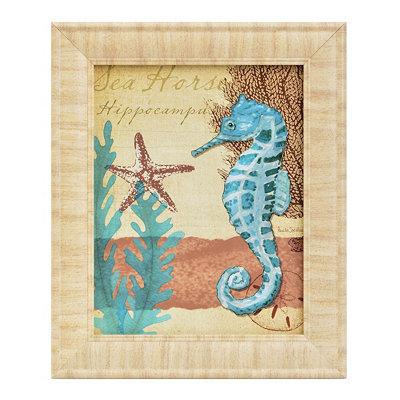 Turquoise Ocean Life II Framed Art Print