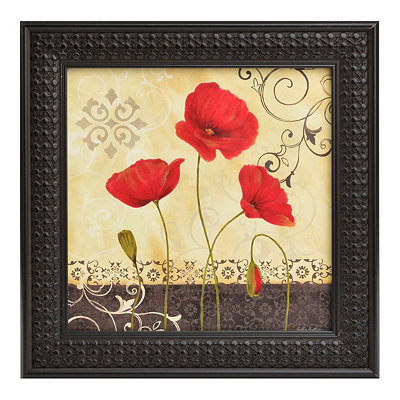 Red Poppy Passion I Framed Art Print