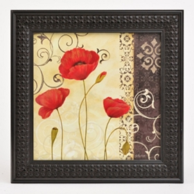 Red Poppy Passion II Framed Art Print