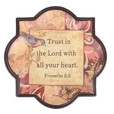 Trust in the Lord Decorative Plate