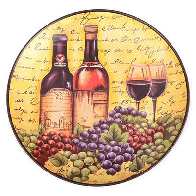 Wine for Two Decorative Plate