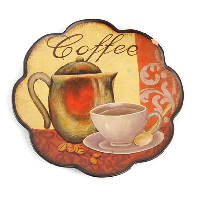 Cup of Coffee Decorative Plate
