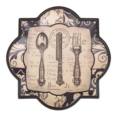 Ornate Flatware Decorative Plate