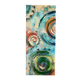 Sapphire Spheres I Canvas Art Print