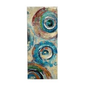 Sapphire Spheres II Canvas Art Print
