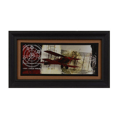 Airplanes I Framed Art Print