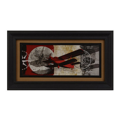 Airplanes II Framed Art Print