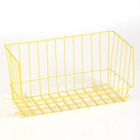 Yellow Wire Stacking Basket
