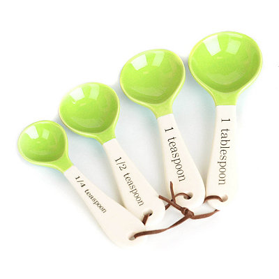Lime Green 4-pc. Measuring Spoons