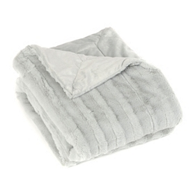 Mint Green Faux Fur Throw Blanket