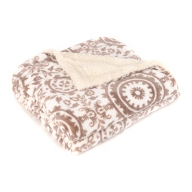 Suzani Velvet Berber Throw Blanket