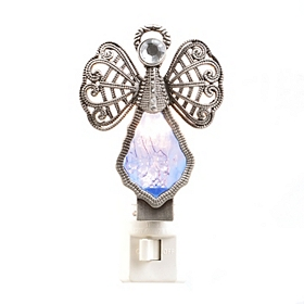 Sapphire Crystal Angel Night Light