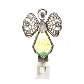 Emerald Crystal Angel Night Light