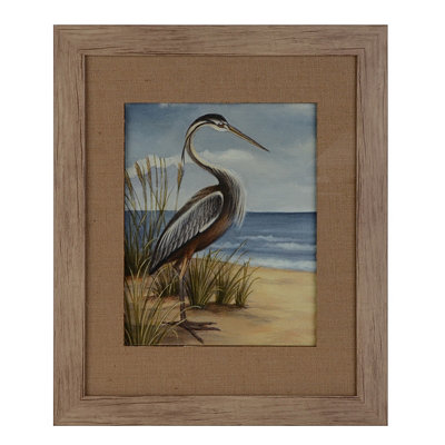 Shore Bird I Framed Art Print