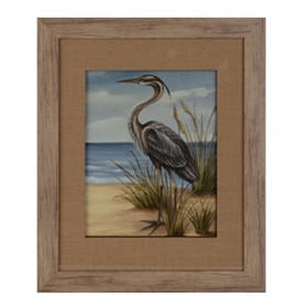 Shore Bird II Framed Art Print