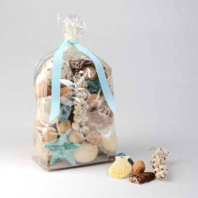 Ocean Blues Scented Seashell Potpourri