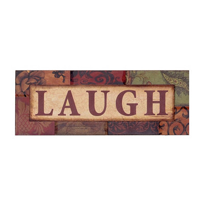 Spice Laugh Wall Plaque
