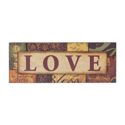 Spice Love Wall Plaque