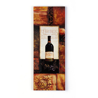 St. Francis Vineyard Wall Plaque