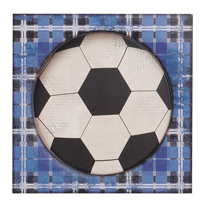 Soccer All-Star Etched Wall Plaque