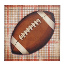 Football All-Star Etched Wall Plaque
