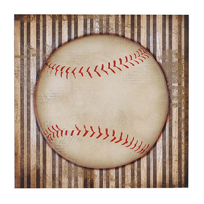 Baseball All-Star Etched Wall Plaque