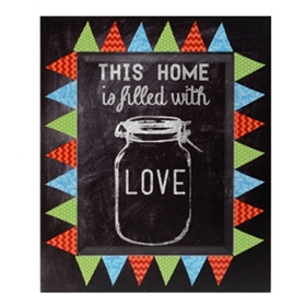 This Home Is Filled With Love Wall Plaque