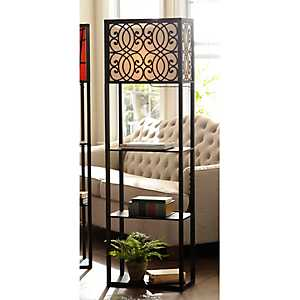 Grady Wide Shelf Floor Lamp