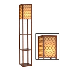 Maddox Shelf Floor Lamp
