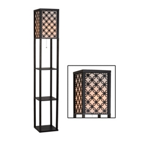 Rowan Shelf Floor Lamp