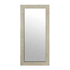 Weathered Natural Framed Mirror, 31x65