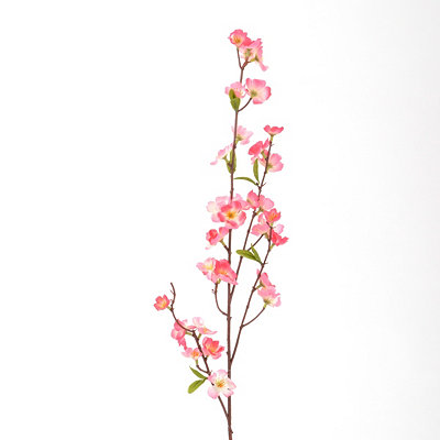 Pink Cherry Blossom Spray, 39 in.