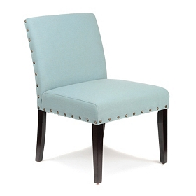 Laguna Blue Slipper Chair