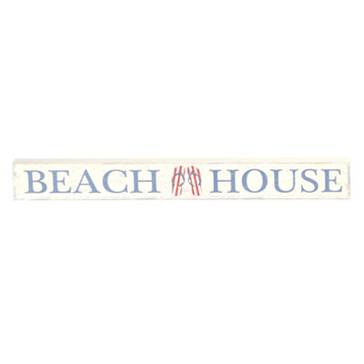 Beach House Word Block