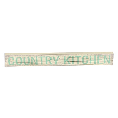 Country Kitchen Word Block