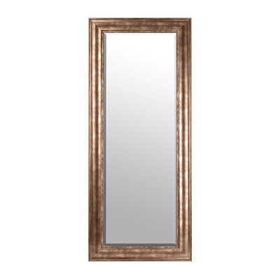 Antiqued Silver Mirror, 33x79