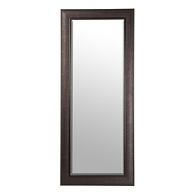Bronze Matte Framed Mirror, 33x79