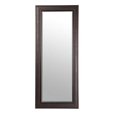 Bronze Matte Framed Mirror, 33x79