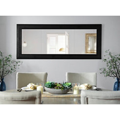 Bronze Matte Framed Mirror, 33.3x79.3 in.