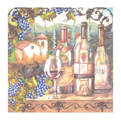 Vineyard Tour Canvas Art Print
