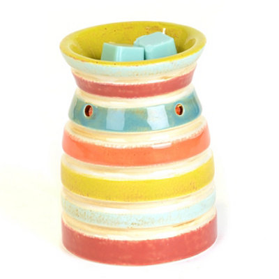 Color Striped Wax Warmer