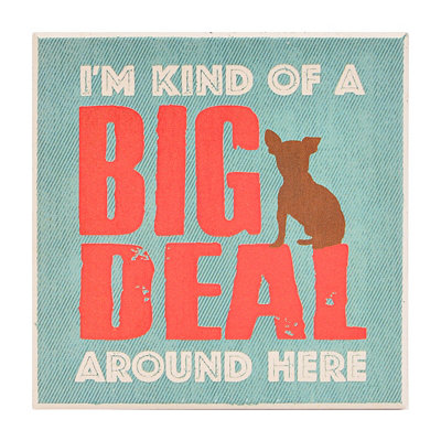 Big Deal Dog Coaster