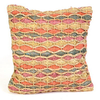 Spice & Gray Chindi Throw Pillow