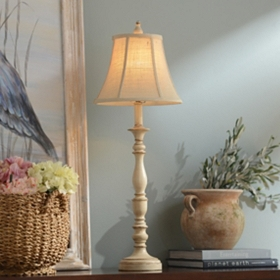 Mackinaw Cream Buffet Lamp